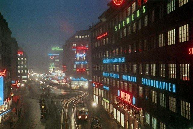 Центральный район Норрмальм, 1945 год, Стокгольм