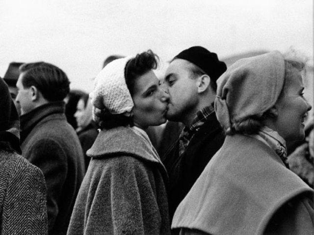 Встреча с мужем, 1959 год, посёлок Внуково