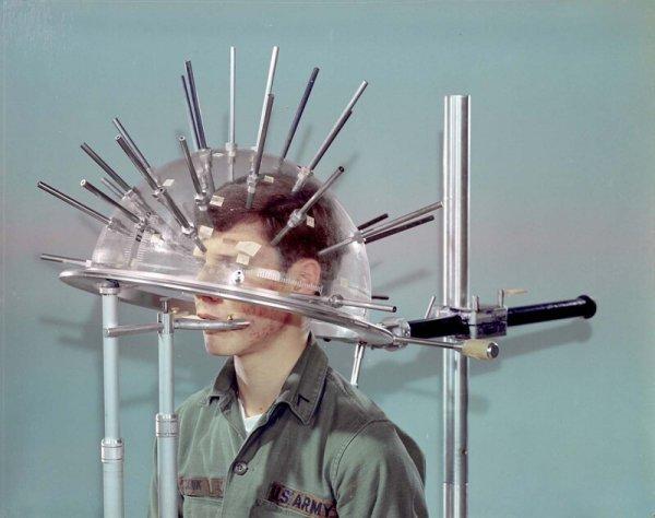 Головомер для шлемов, 1973