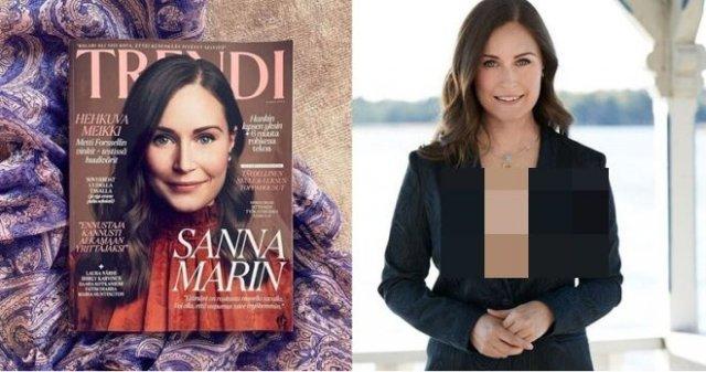 Премьер-министр Финляндии Санна Марин выложила нескромное фото и ее тут же поддержали сограждане