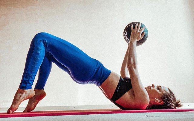 Анна Хилькевич на спорте