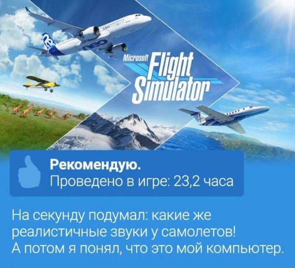 Отзыв на игру Microsoft Flight Simulator