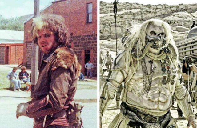 Хью Кияс-Бёрн, который сыграл центрального антагониста в фильме «Безумный Макс: Дорога ярости» (2015), также был главным злодеем в фильме «Безумный Макс» 1979 года