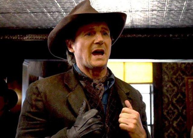 Лиам Нисон согласился играть в фильме «Миллион способов потерять голову» из-за эпизода «Гриффинов», который высмеивал актера