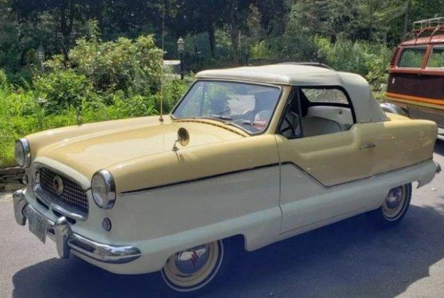 Nash Metropolitan: необычная для США машина, созданная в 50-х специально для девушек