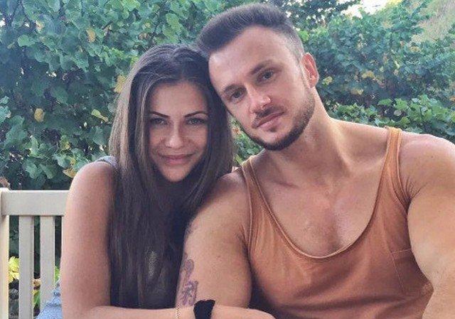 София Стужук с мужем Дмитрием на отдыхе