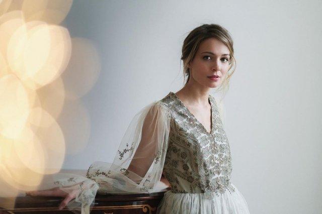 Марина Кацуба в платье