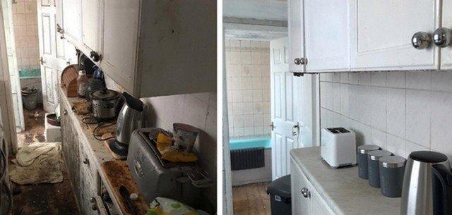 Клинеры показали результаты уборки в доме в графстве Камбрия