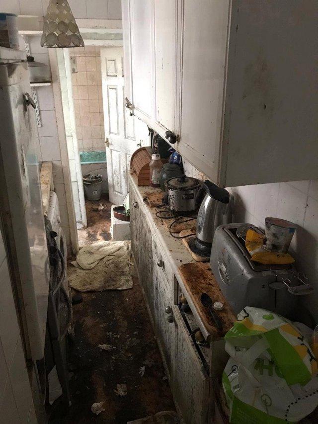 Клинеры показали результаты уборки в доме в графстве Камбрия  - кухня