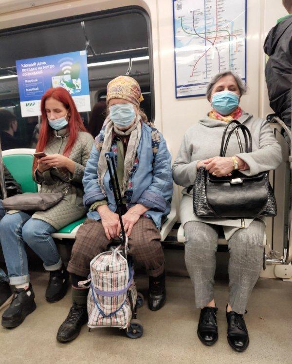 бабушки в масках