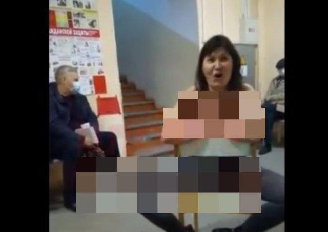 Женщина, сошедшая с ума в больнице