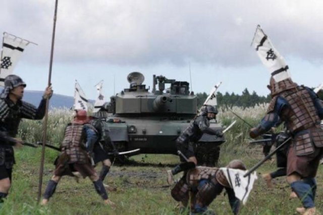 С мечом против танка