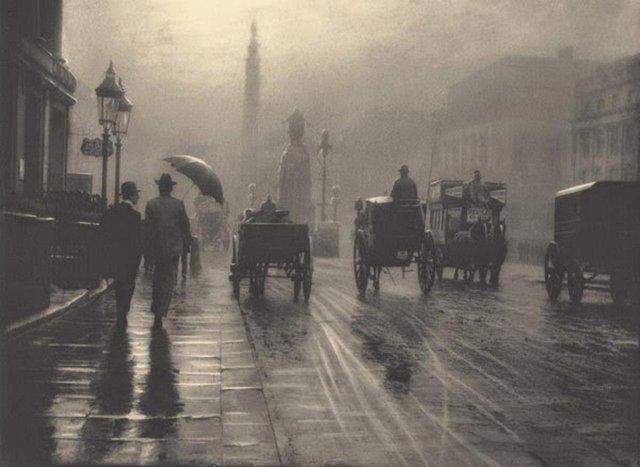 Ватерлоо Плейс, Лондон, 1899 год.