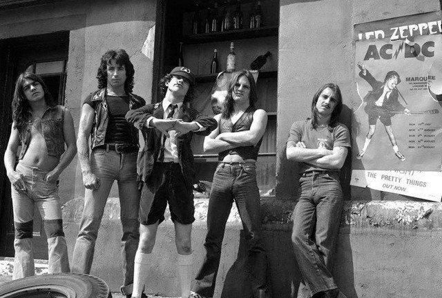 AC/DC, 1976 год.