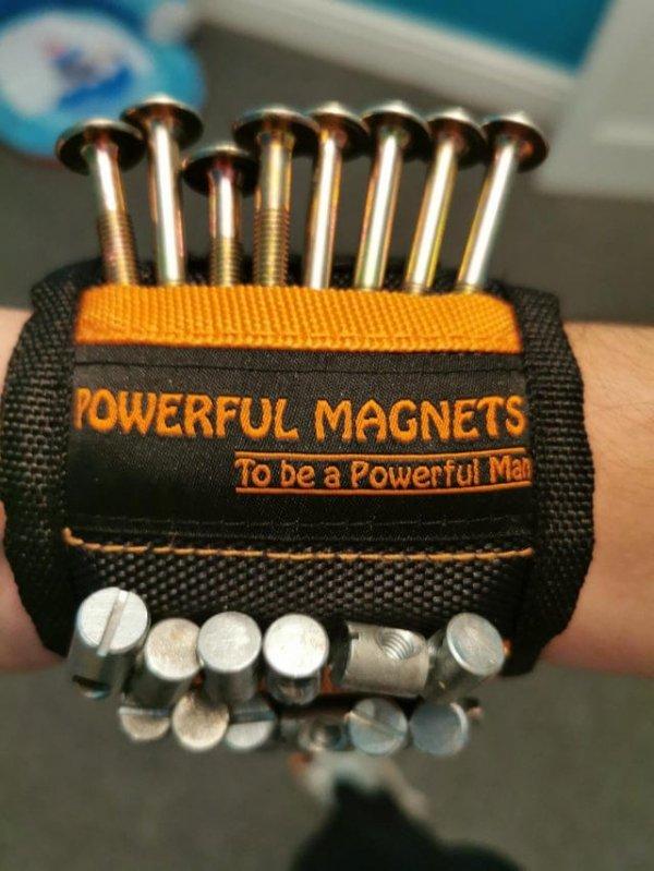 Мощный магнит-напульсник