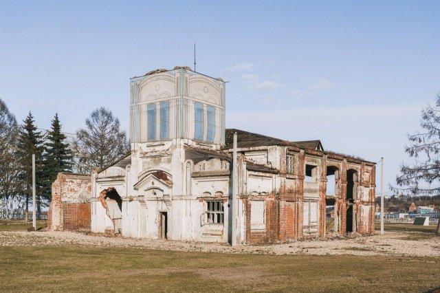 Ярмарочная водозаборная станция в Нижнем Новгороде