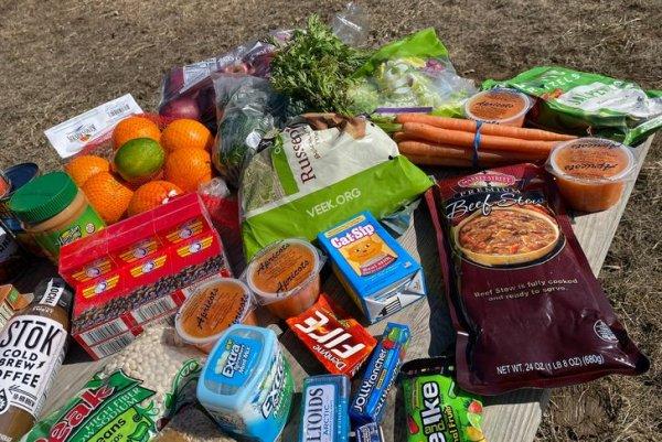 В штате Иллинойс есть бесплатный супермаркет для малоимущих