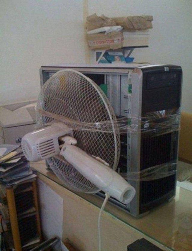 Вентиляция компьютера