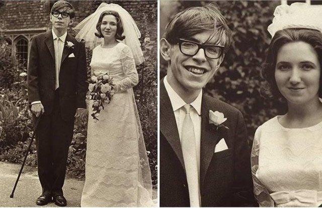 Свадьба Стивена Хокинга и Джейн Уайлд, 1965 год