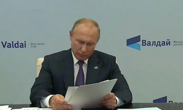 Шутка о недоброжелателях России от Владимира Путина