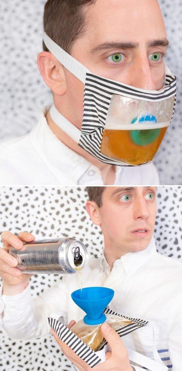 маска для напитков