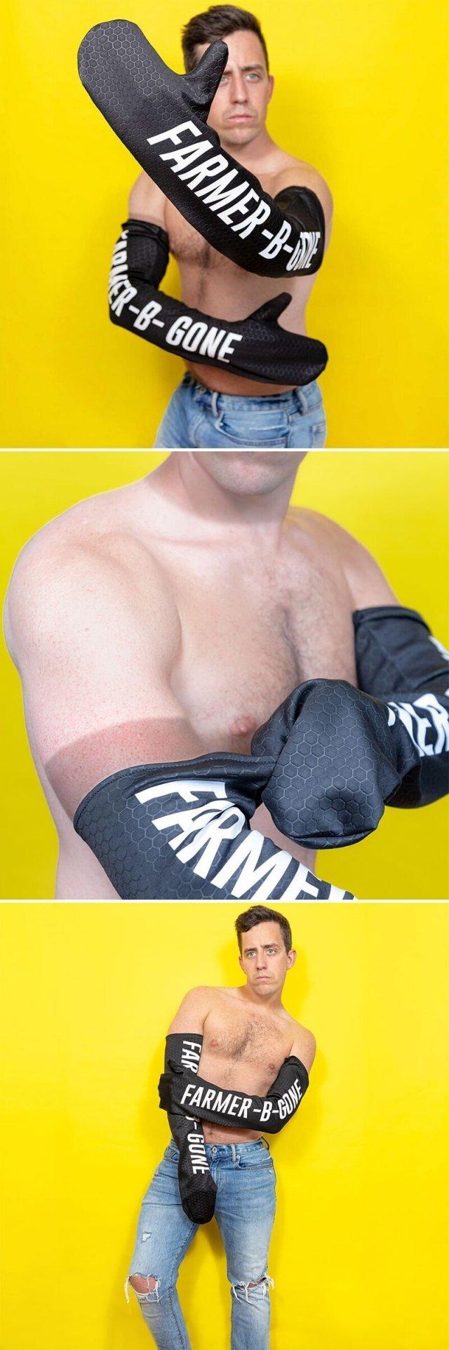 перчатки для загара