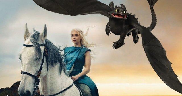 """Героиня """"Игры престолов"""" приручила дракона"""