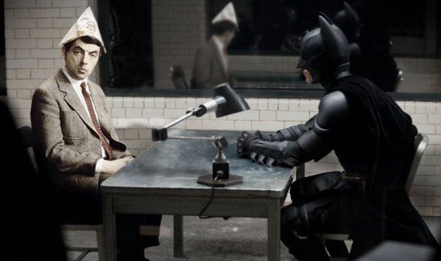 Мистер Бин заменяет Джокера