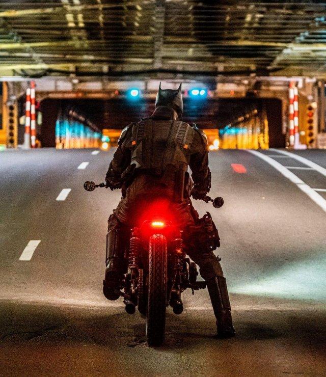 "Съемки нового фильма ""Бэтмен"" с Робертом Паттинсон"