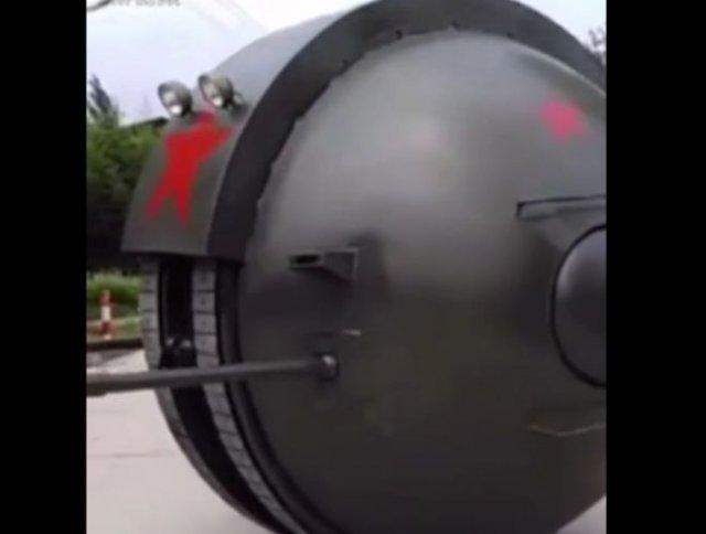 Изобретатели из Китая сделали сферический танк
