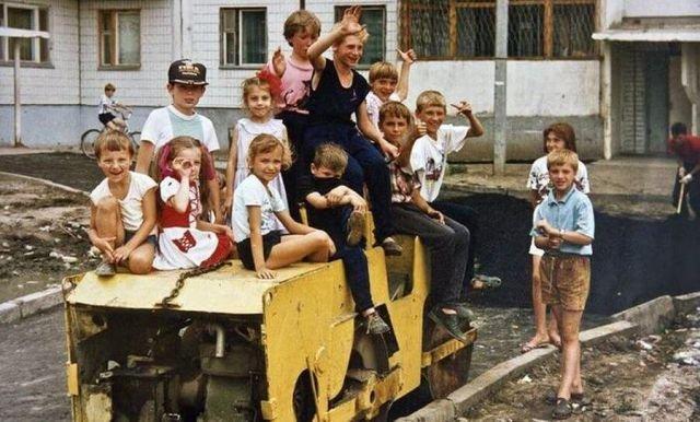 Счастливое детство. Барнаул, 1995 год.