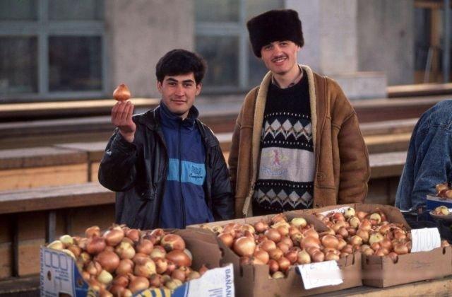 Рынок в Иркутске, начало 90-х