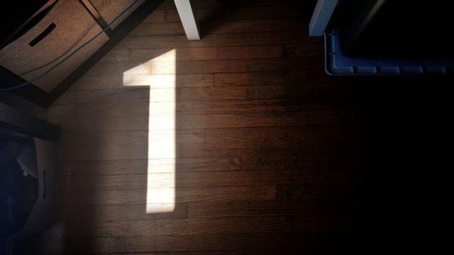Солнечный свет как бы намекает