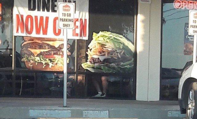 Человеко-бургер