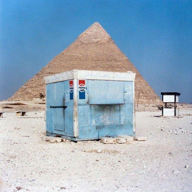 Пирамиды и Пепси, 1970-е.