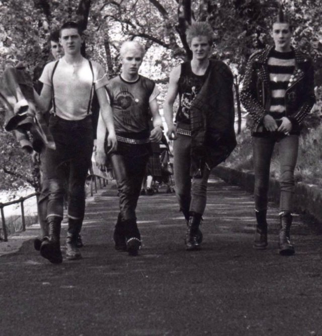 Панкота, Эдинбург, Шотландия, 1983 год