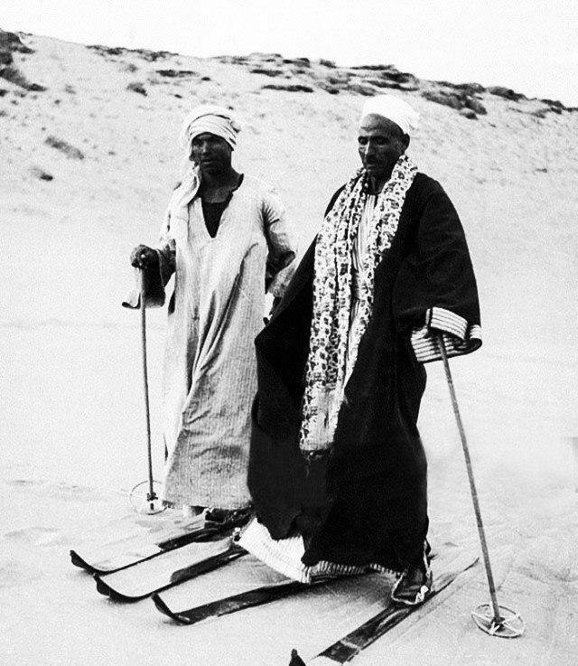 Когда очень хочется снега. Египет, 1939 год.