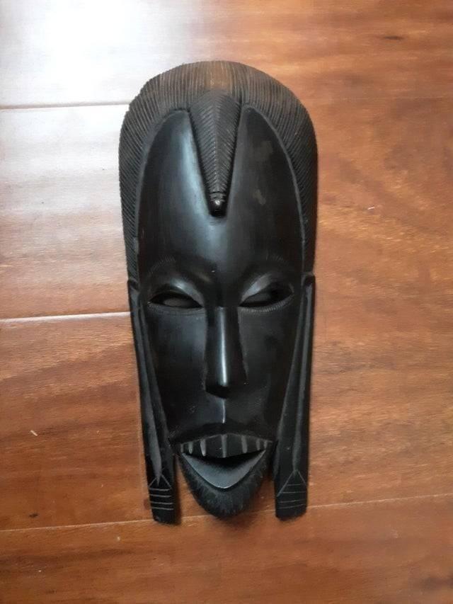 маска африканского племени масаи