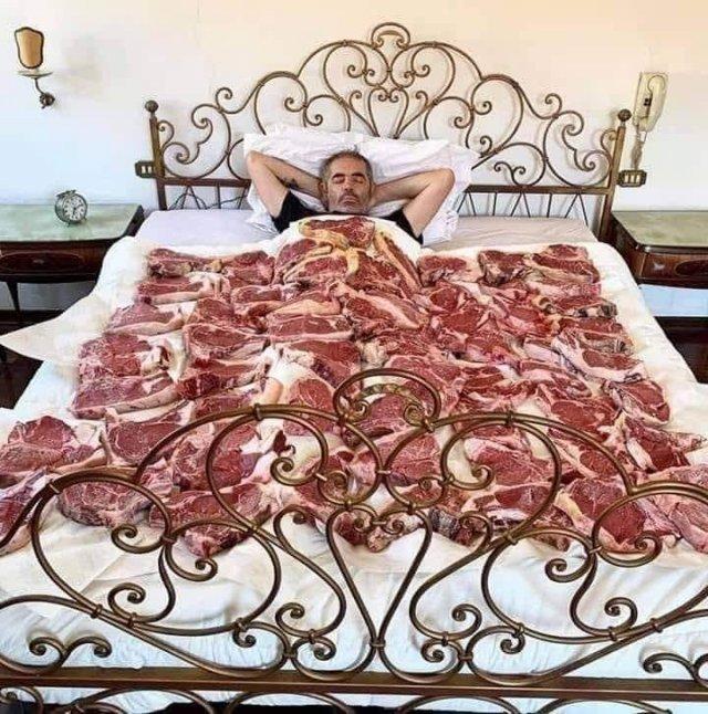 Одеяло из стейков