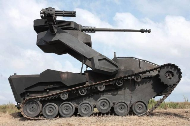 Необычный танк
