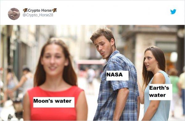 Вода на Луне > вода на Земле