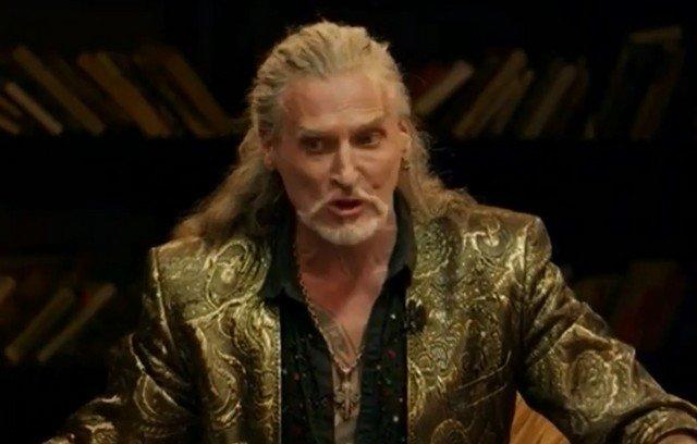 """Никита Джигурда в золотом костюме на шоу """"Что было дальше"""""""