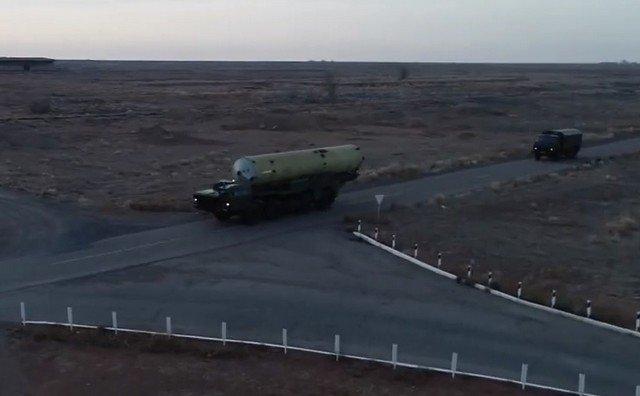 Испытания новой системы ПРО на полигоне Сары-Шаган в Казахстане