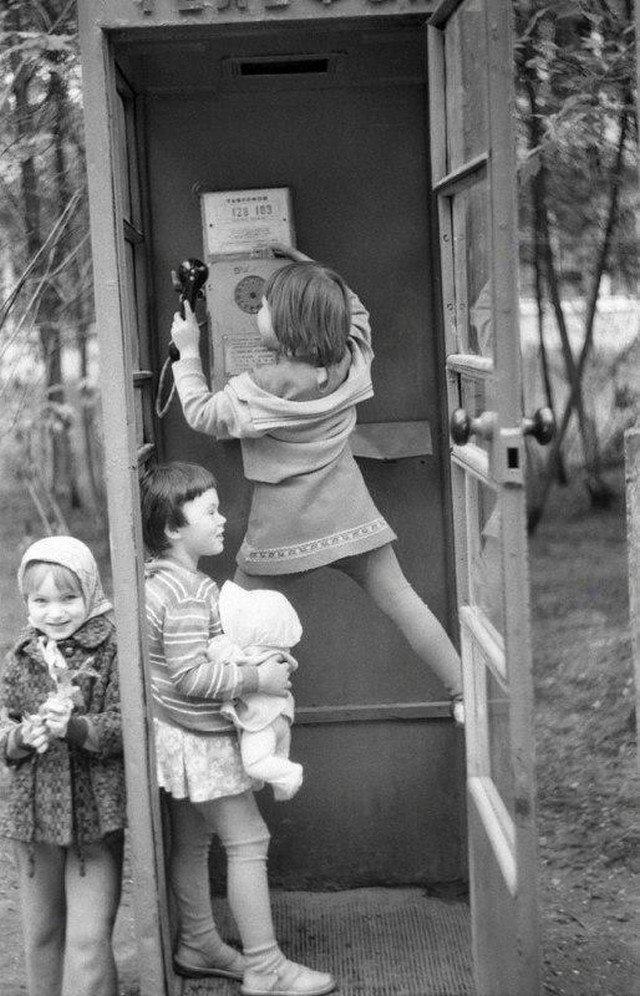 Звонок маме, Москва, 1980 год.