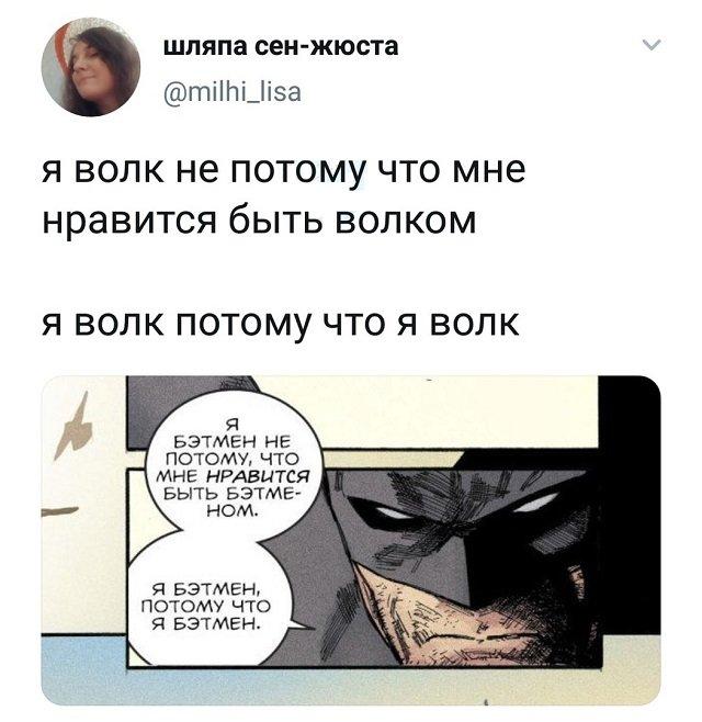твит про волка