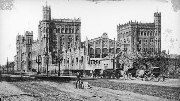 Северный вокзал в Вене (1865-1950)