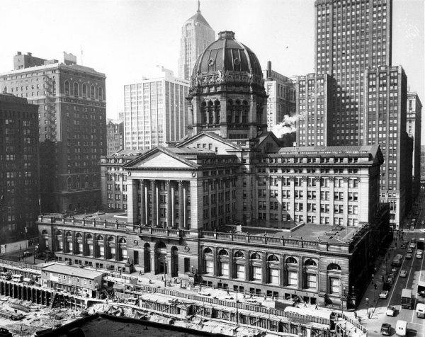 Здание суда в Чикаго (1905-1965)