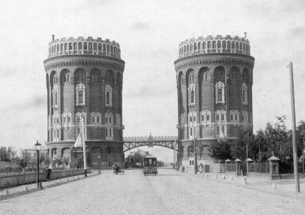 Крестовские водонапорные башни, Москва (1893-1940)