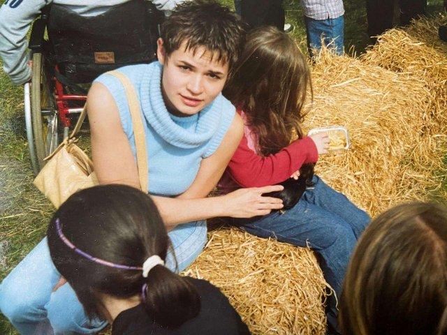 16-ти летняя Света Пилипчук. Сегодня известная как Светлана Тихановская – лидер беларуской нации и Президент Беларуси.