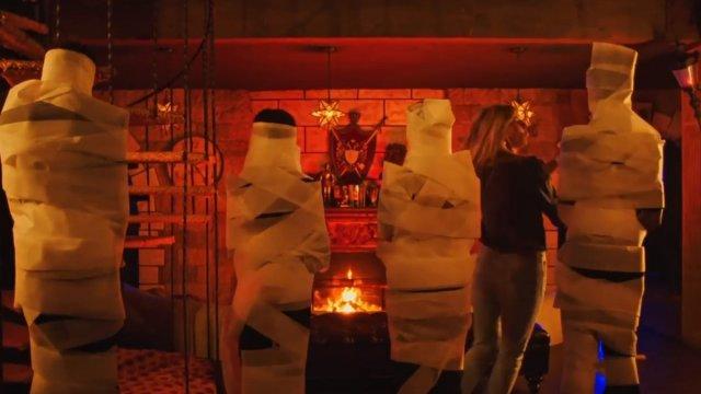 Мини-фильм Хайди Клум о Хэллоуине